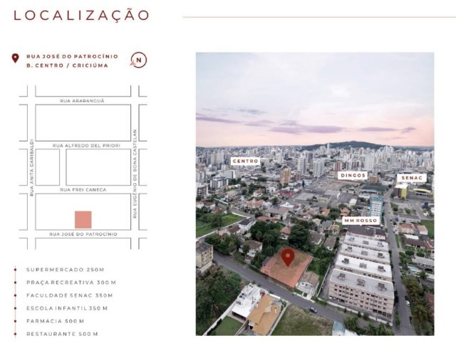 Apartamento à venda com 2 dormitórios em Centro, Criciuma cod:60724.483 - Foto 8