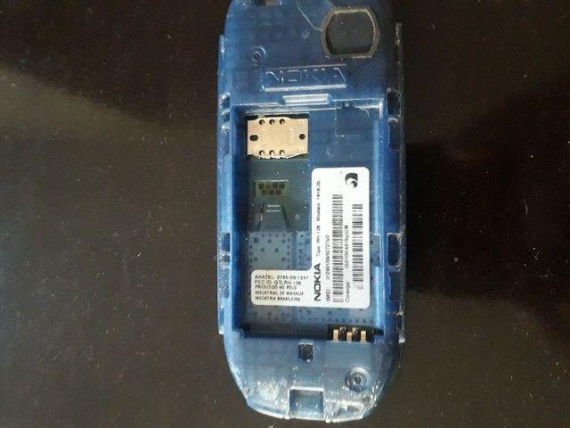 Celular simples Nokia Leia as descrições  - Foto 2
