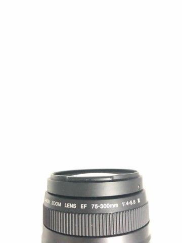 Lente canon 75 300  - Foto 5