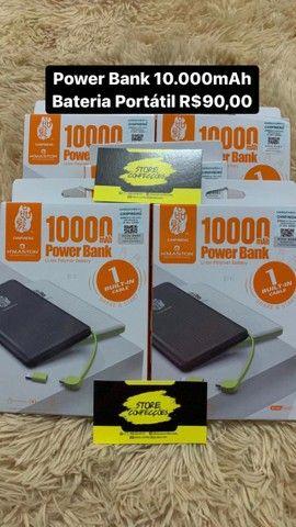 Carregador Portátil Power Bank 10000mah - Entrega Gratuita. - Foto 2