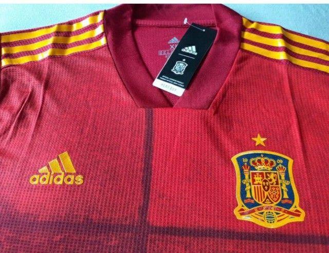 Camisa Seleção Espanha Jogador 20/21 - Foto 2