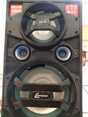 Caixa de som lenox 500w - Foto 2