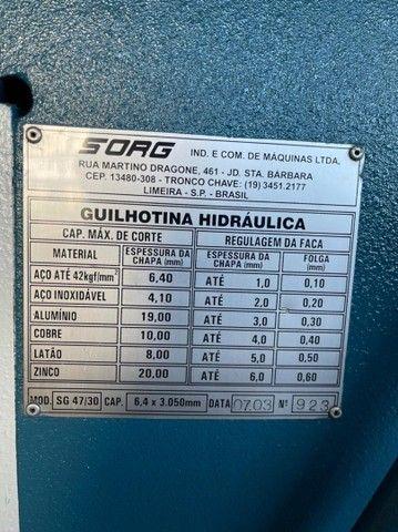 Guilhotina SORG  - Foto 4