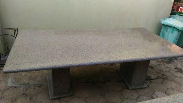 Mesas de Granito Cinza Andorinha de 2,40 x 1,30