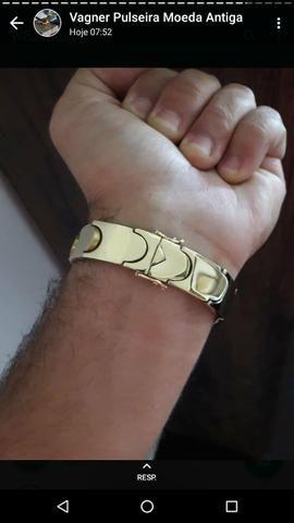 Bracelete,aneis, corrente, pulseira ,pingente personalizado - Foto 6