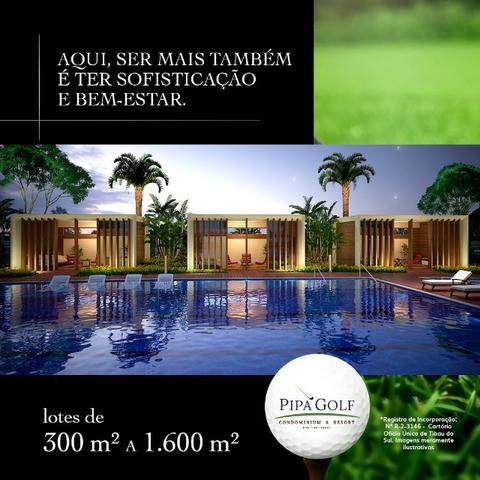 Realize seu sonho no Pipa Golf em Pipa, lotes a partir de 300m²