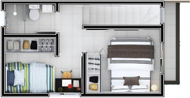 Sobrado com 2 dormitórios à venda, 48 m² por R$ 147.500 - Conjunto Habitacional Jardim Hum - Foto 8