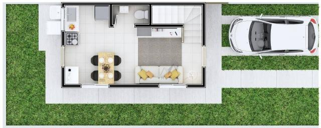 Sobrado com 2 dormitórios à venda, 48 m² por R$ 147.500 - Conjunto Habitacional Jardim Hum - Foto 9