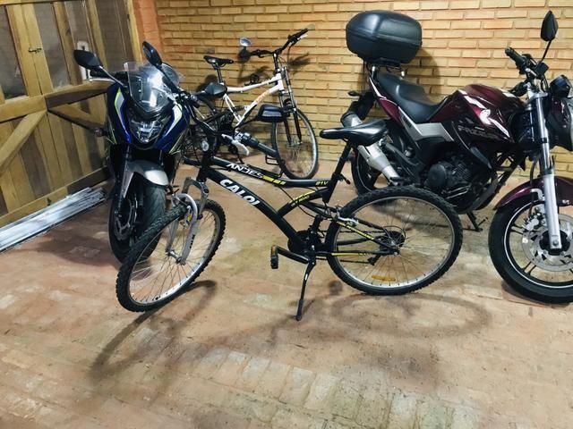 Bicicleta caloi Andes seminova - Foto 2