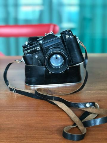 Câmera Analógica Zenit E Vintage