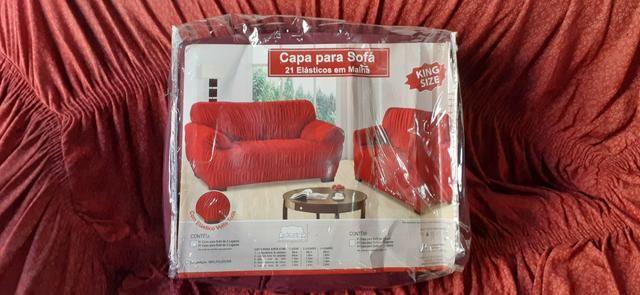 Capas de sofá de dois é três lugares