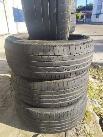 4 pneus todos iguais 16 205 55 - Foto 3