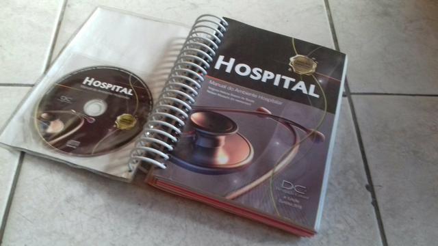 Livro hospital . ambiente hospitalar ** cd - Foto 3