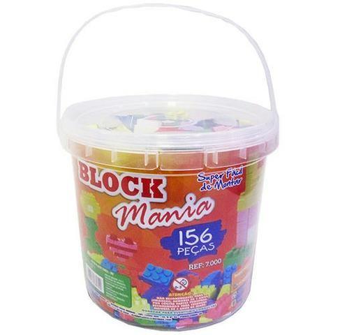 Block mania 156 peças