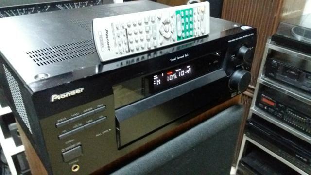 Receiver pionner modelo vsx-d712 com controle - Foto 2