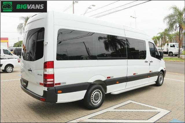Sprinter 2018 415 Bigvan Executiva 19L Branca (4209) - Foto 8