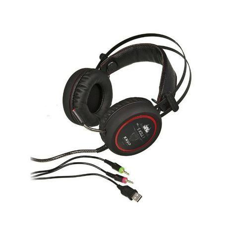 Fone De Ouvido Headset Game Usb Microfone Knup Kp-401 Novo - Foto 2