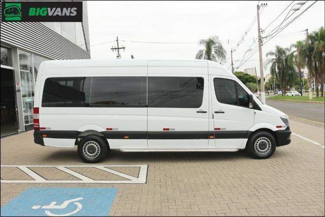 Sprinter 2018 415 Bigvan Executiva 19L Branca (4209) - Foto 14