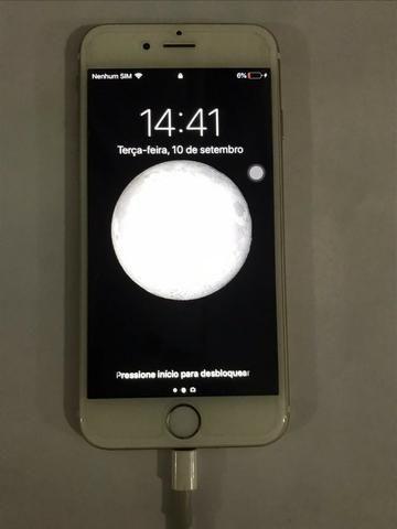 Iphone 6 gold 16gb (com defeito - ler descrição) - Foto 3