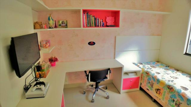 Casa 3 Quartos, 158 m² c/ armários e lazer na 1204 Sul - C/ Gerador de Energia - Foto 9