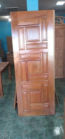 Porta Madeira Mista ou Angelim com Aduela - Foto 5