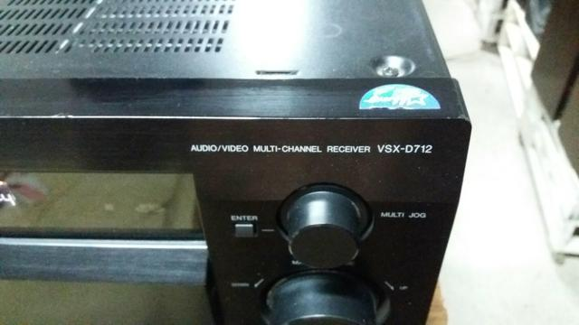 Receiver pionner modelo vsx-d712 com controle