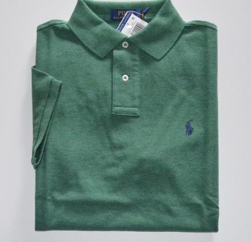 Camisa Polo Ralph Lauren Tamanho S P Original Custom Fit d8a89a45c11b9