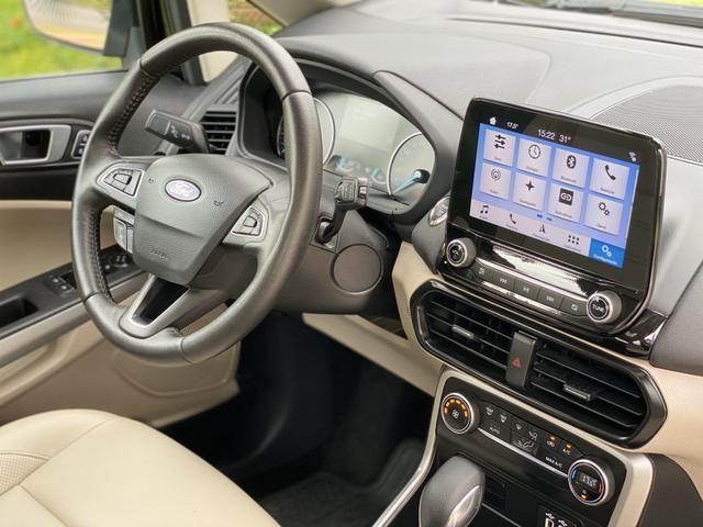 Ford Ecosport 2.0 Titanium 2.0 Flex + Com Teto Solar+ 2018/2019+ Impecável - Foto 11