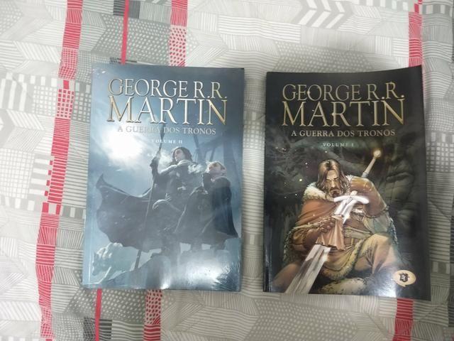 Livros Guerra dos Tronos ILUSTRADO