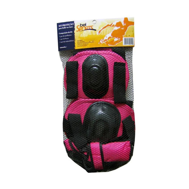 Kit Proteção para roller ou skate Bel - Foto 2