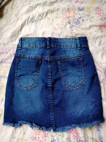 Saia jeans - Foto 2