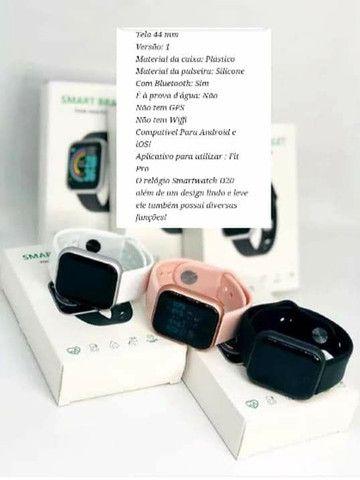 Smartwatch D20<br><br>FRETE GRATIS - Foto 2