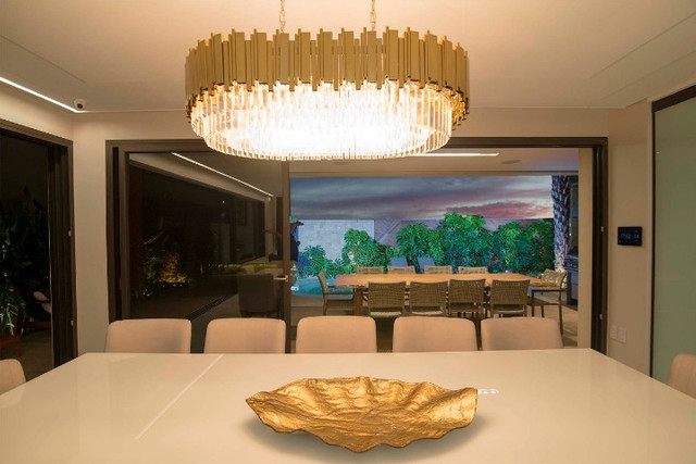 Casa luxuosa a venda no Bosque das Orquídes - Mobiliada - 04 suítes - 600m² - Foto 3