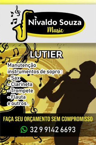Clarinete 17chaves Sib - Foto 6