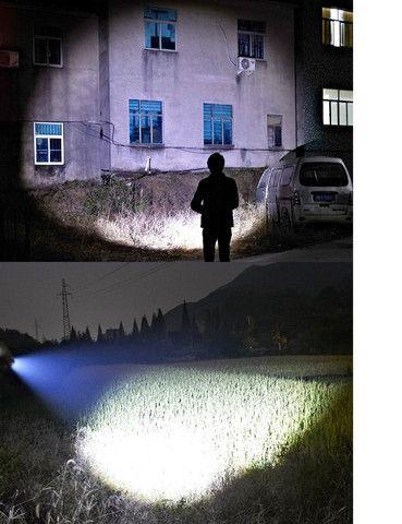 Lanterna Tática Led Recarregável Via Usb Lanternas Pequena - Foto 4