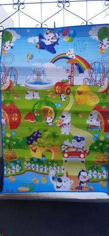 Tapete infantil- medidas:  1.80 x 1.00- grátis  bolsa