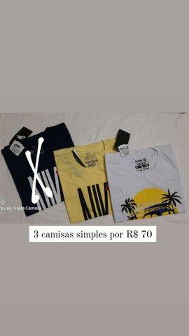 Camisas simples  - Foto 4