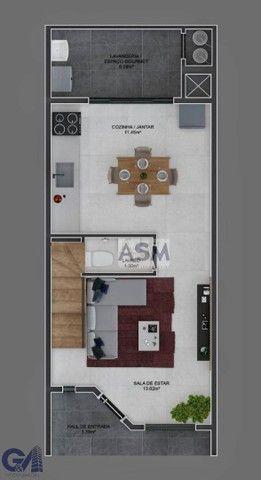 Sobrado com 2 dormitórios à venda por R$ 240.000 - Velha - Blumenau/SC - Foto 9
