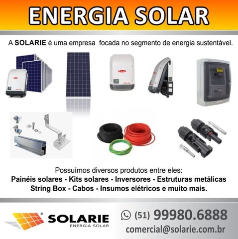 Placa / Módulo / Painel solar fotovoltaico 335w - pronta entrega! - Foto 4