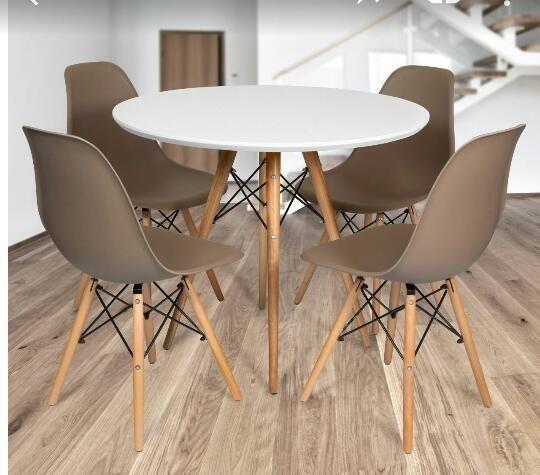 Conjunto de mesa estilo Eiffell + 4 cadeiras!!! - Foto 2