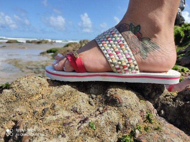Havaianas de luxo para acabar  - Foto 2