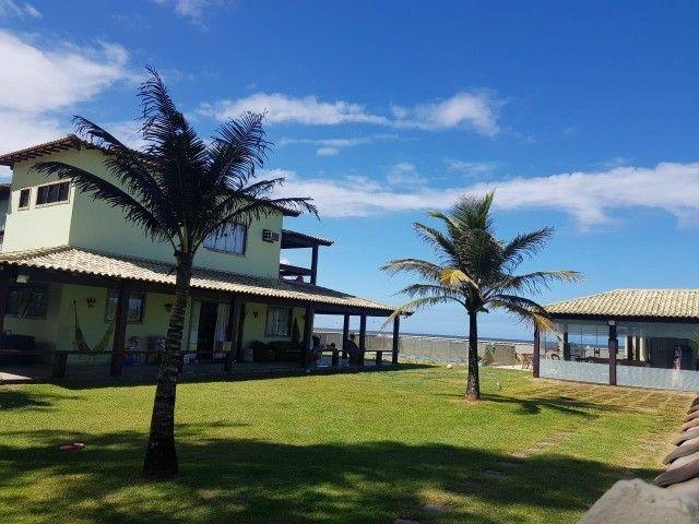 Mansão 5 Quartos - Condomínio Long Beach - Casa Frente Praia - Unamar