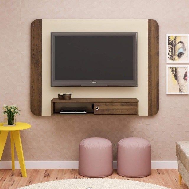"Painel Artely Wave TV de até 50"" - Acompanha Suporte de TV - Foto 2"
