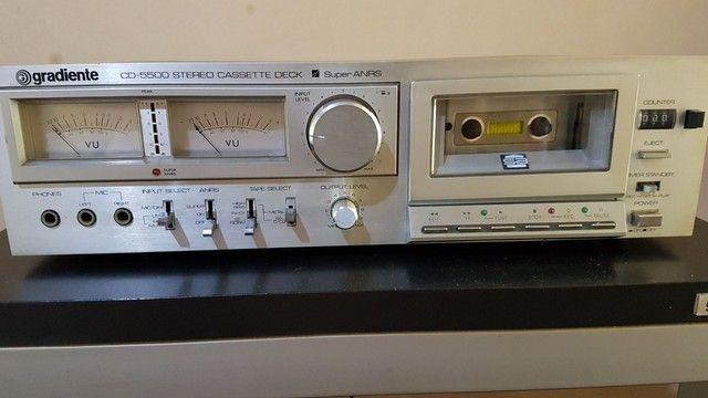 Tape deck Gradiente novíssimo  - Foto 2