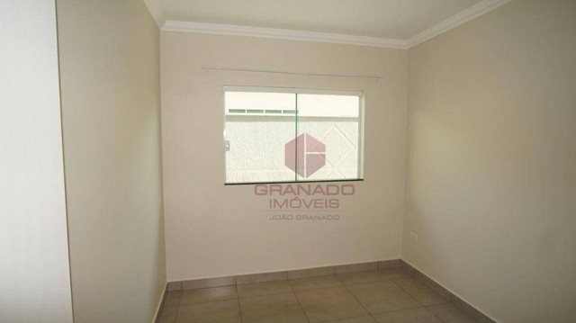 Casa com 3 dormitórios para alugar, 119 m² por R$ 1.200,00/mês - Jardim Tóquio - Maringá/P - Foto 17