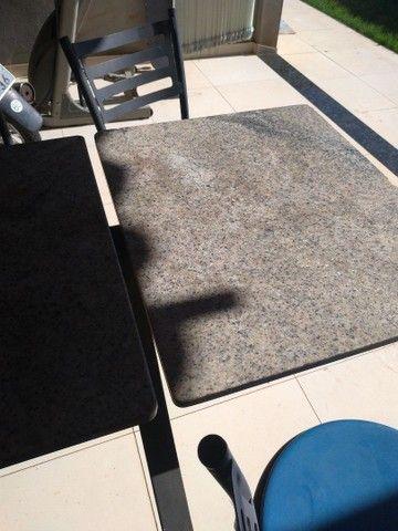 mesa. marmore. 4 cadeiras - Foto 3