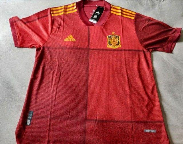 Camisa Seleção Espanha Jogador 20/21