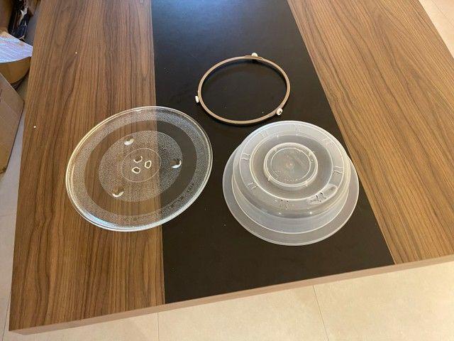 Microondas Inox Pouco Usado - Foto 3