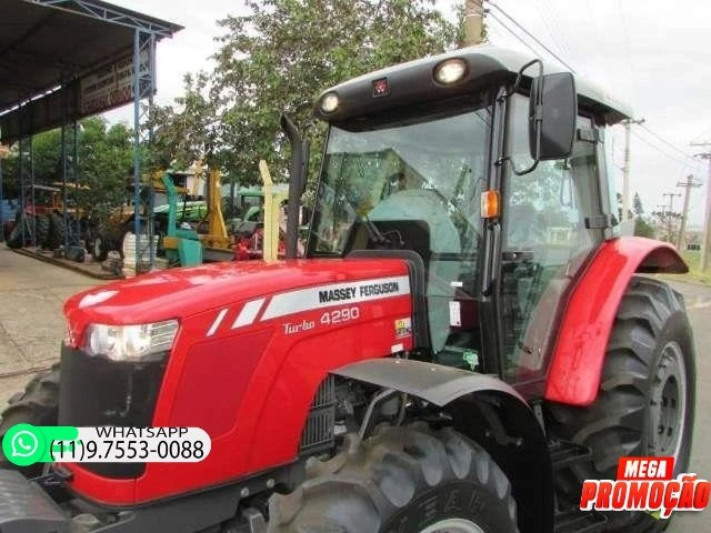 Trator Massey Ferguson 4290 4x4 ano 17 98900 - Foto 2