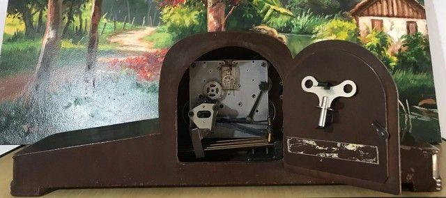 Relógio de mesa antigo Silco - Foto 2